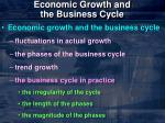 economic growth and the business cycle6