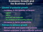 economic growth and the business cycle8
