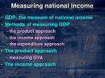 measuring national income1