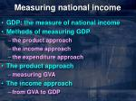 measuring national income2