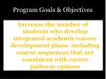 program goals objectives4