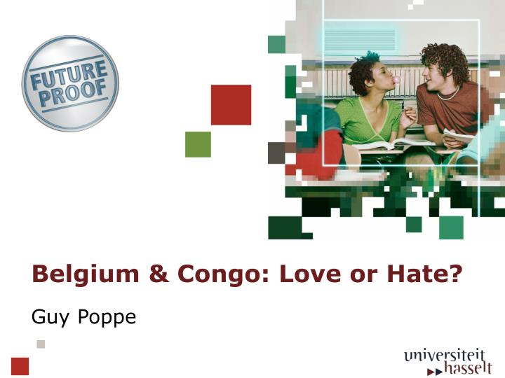 belgium congo love or hate n.