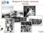 belgium congo personal stories