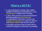 what is a muve