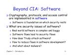 beyond cia software