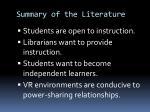 summary of the literature