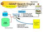 gdap search engine