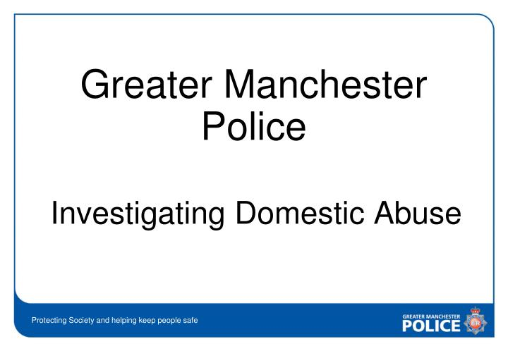 investigating domestic abuse n.