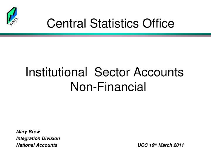 central statistics office n.