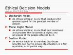 ethical decision models values and ethics dr emily gacad