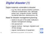 digital disaster 1