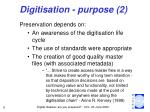 digitisation purpose 2