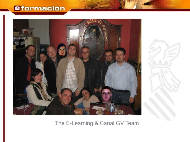 The E-Learning & Canal GV Team