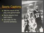 sports captions2