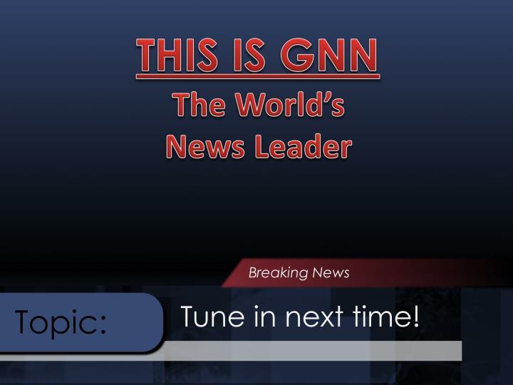 THIS IS GNN