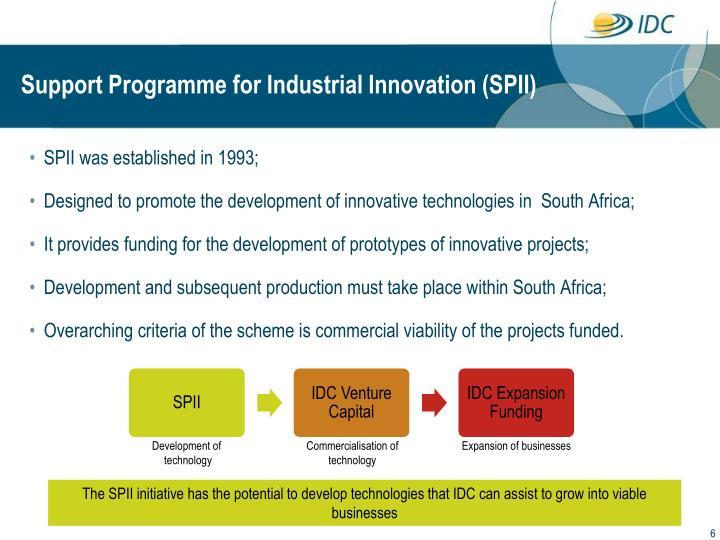 SPII was established in 1993;