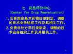 center for drug reevaluation