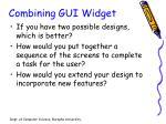 combining gui widget