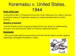 korematsu v united states 1944