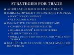strategies for trade