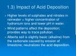 1 3 impact of acid deposition
