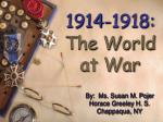1914 1918 the world at war