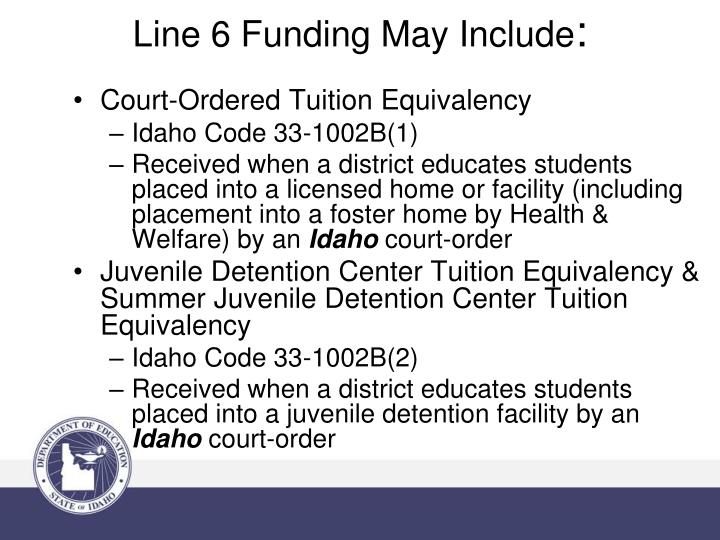 Court-Ordered Tuition Equivalency