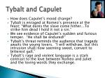 tybalt and capulet
