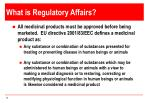 what is regulatory affairs1