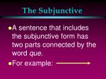 the subjunctive4