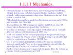 1 1 1 1 mechanics