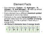 element facts