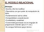 el modelo relacional1