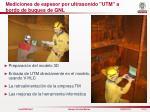 mediciones de espesor por ultrasonido utm a bordo de buques de gnl