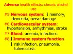 adverse health effects chronic alcohol use3
