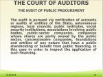 the court of auditors the audit of public procurement5