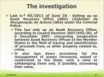the investigation5