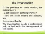 the investigation8