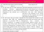 ut commitment implementation1