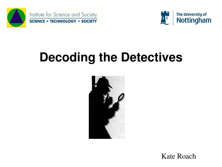 decoding the detectives n.