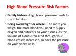high blood pressure risk factors2