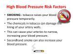 high blood pressure risk factors3