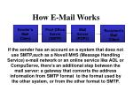 how e mail works1