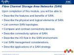fibre channel storage area networks san1