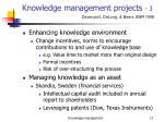 knowledge management projects 3