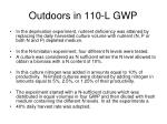 outdoors in 110 l gwp2