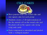 cell cakes