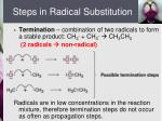 steps in radical substitution1