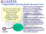 yungta institute and asian pacific operation center
