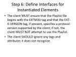 step 6 define interfaces for instantiated elements1